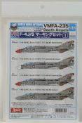 SWS 4804-D03 F-4J/S Marking Set 1 - VMFA-235 Death Angels